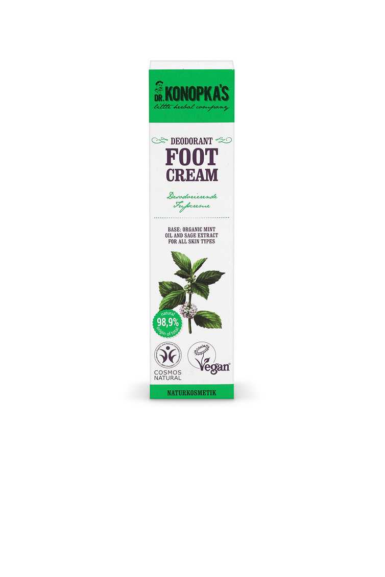 Crema Desodorante para pies, 75 ml Image