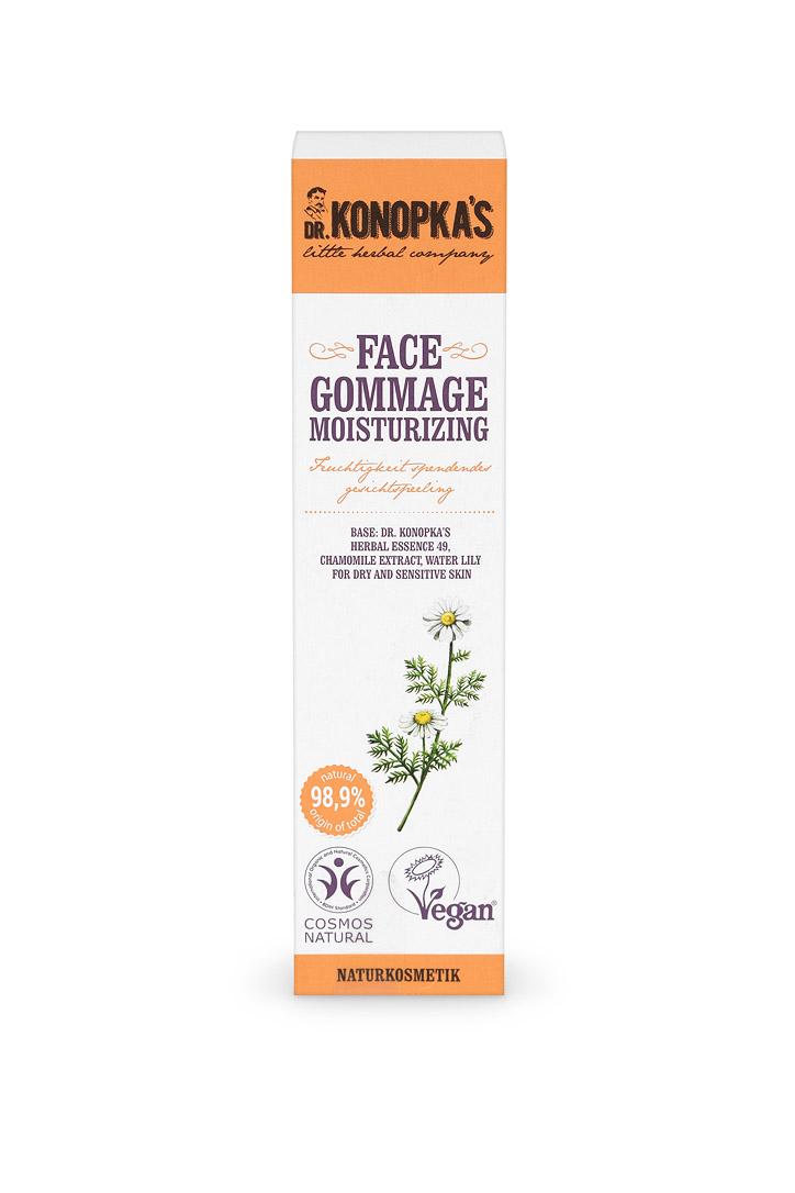 Gommage Facial Hidratante, 75 ml Image