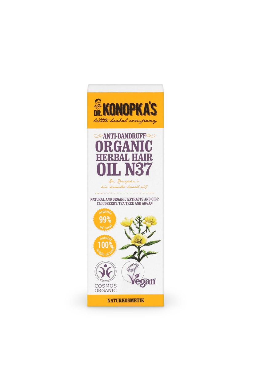 Aceite Anticaspa Orgánico de Hierbas para el cabello nº 37, 30 ml Image