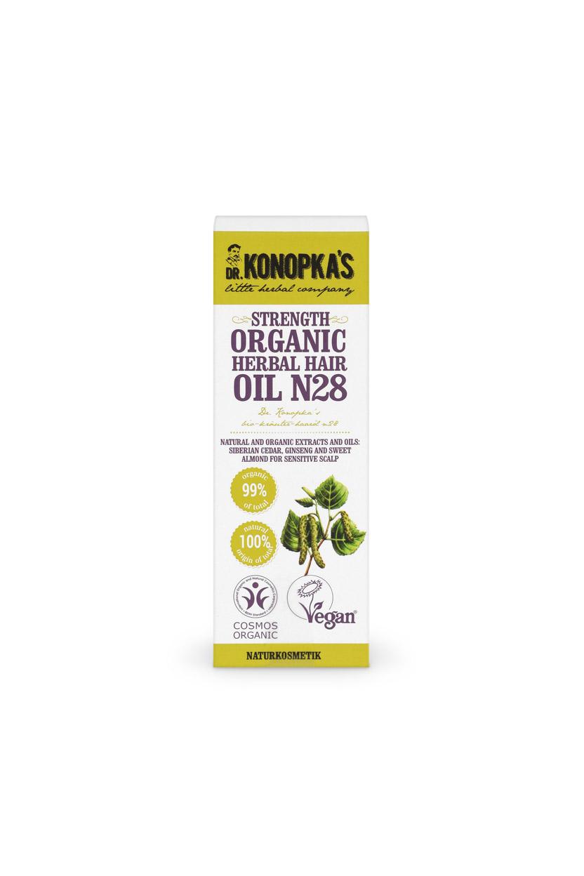Aceite Fortalecedor Orgánico de Hierbas para el cabello nº 28, 30 ml Image